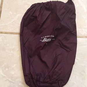 """Bass dust bag 9x7"""""""